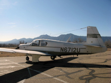 1963 Mooney M20C Turbo – SOLD